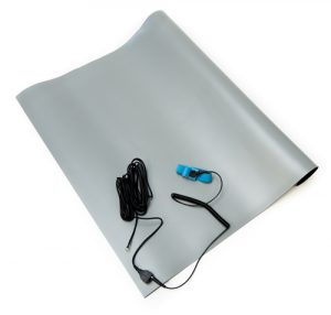 anti static high temperature mat kit gray