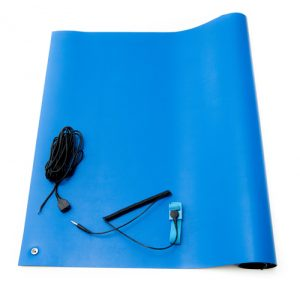 anti static high temperature mat kit blue