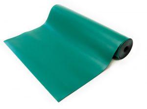 anti static high temperature mat green
