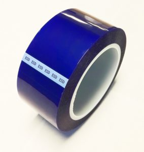 anti static polyester tape blue