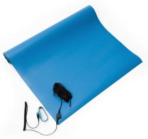 anti static soldering mat kit blue