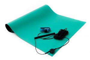 anti static soldering mat kit green