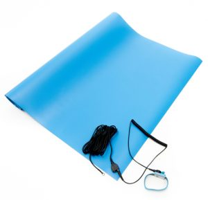 anti static vinyl mat kit blue