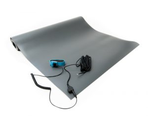 anti static vinyl mat kit gray