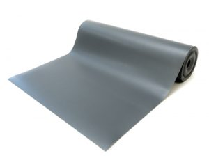 anti static vinyl mat gray